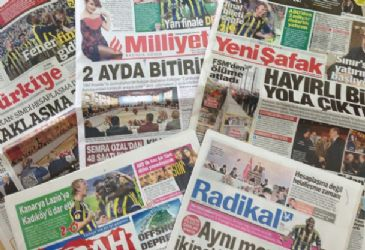 Turkish dailies covered Turkish prime minister's meeting with the wise-men committee, main opposition parties' refusal to take part in the solution commission, and Turkish soccer team Fenerbahce's 2-0 victory over Lazio in UE
