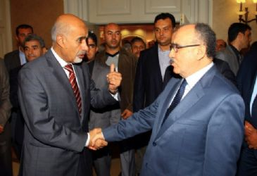 Turkish Deputy PM Besir Atalay met Libyan president and prime minister and expressed readiness to support the country in transition process