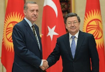 Erdogan held official talks in Bishkek where cooperation agreement signed between Turkey and Kyrgyzstan