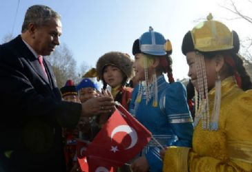 Turkey's Deputy Prime Minister Bulent Arinc has held the inauguration of Ankara Boulevard in Mongolian capital Ulan Bator.