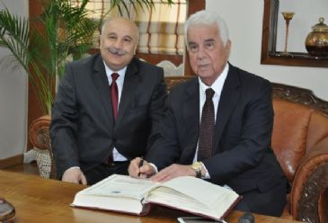 Turkish Cypriot president said Turkish Cypriots and guarantor state Turkey are running out of patience on Cyprus problem