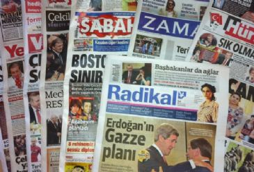 Turkish dailies covered Wednesday Turkish premier`s remarks over his planned Gaza trip, Turkish president`s call for full scale PKK disarmament, and withdrawal of PKK terrorists