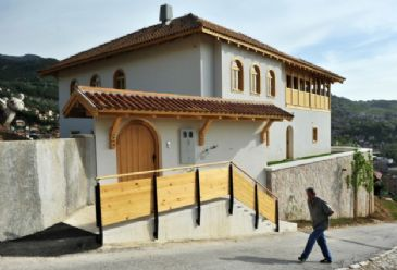 550-years-old center was rebuilt by Turkey