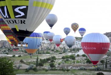Hot air balloon trips took place since 1997 in Cappadocia and two accidents occurred resulting in death since then