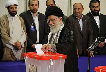 Presidential election in Iran started at 8 a.m. Friday