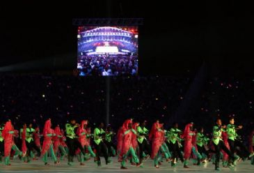 11th Turkish Language Olympics concluded with a spectacular finale in Istanbul on Sunday