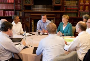Civil war in Syria will be the main agenda item of G8 summit