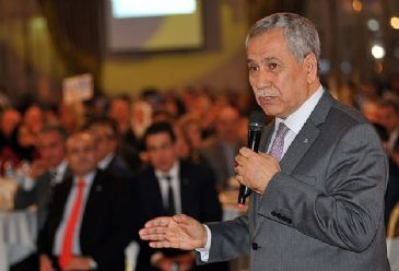 Turkish Depurty PM Bulent Arinc says that the political storms will not be able to overbalance or divert the route of the strong economic structure built in ten years time.