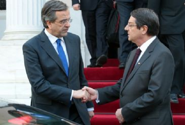 Greek Cypriot leader says that the declaration to be released jointly by Turkish and Greek Cypriots is a step in the right direction.