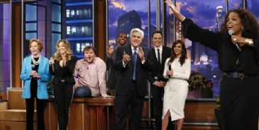 After 22 years on the thrown of late night television, Jay Leno from NBC's The Tonight Show with Jay Leno, parted ways with NBC despite leading primetime ratings.