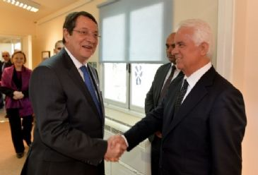 Ban and Obama welcome resumption of peace talks, Turkish Cypriot President Eroglu says final deal remains far off.