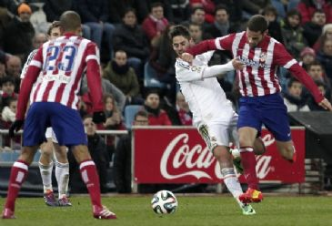 Real Madrid defeat rivals Atletico Madrid with a brace in Copa del Rey's second leg of semi-final.