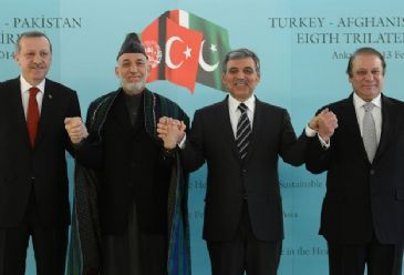Gul, Afghanistan`s President Karzai, Pakistan's PM Sharif and Turkey's PM Erdogan held quadruple meeting early Thursday.