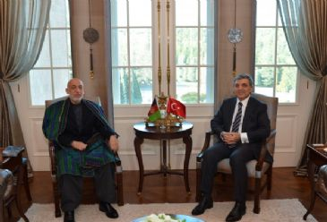 Afghanistan`s President Hamid Karzai and Pakistan` Prime Minister Muhammad Nawaz Sharif is attending the trilateral summit with Turkish President Abdullah Gul in Ankara on Thursday.