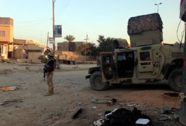 ISIL forces mortared a disctrict of the town called Sulayman Beg, late Wednesday night, and managed to infiltrate the surrounding area