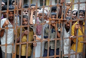 1,300 Rohingya detained in immigration detention centers in Thailand sent back to Myanmar authorities 3 months ago.