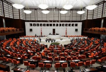 The Turkish parliament passed a law Saturday amending the composition of the country`s top judicial board, which governs the affairs of judges and prosecutors.