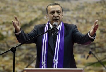 Erdogan says some in the police and the judiciary are receiving orders from a `parallel state,` which he says aims to target the government.