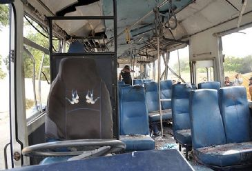 The number of fatalities from a Sunday tourist bus blast in the Egyptian side of the Taba crossing on the border with Israel rose to four