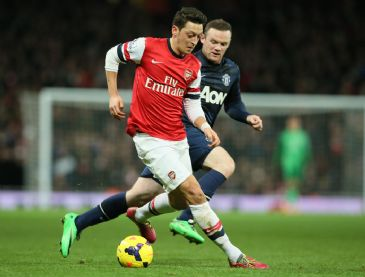 Arsenal's German star Mesut Ozil has said he is relishing the challenge of facing Champions League holders Bayern Munich in Wednesday's last 16, first leg clash at home.