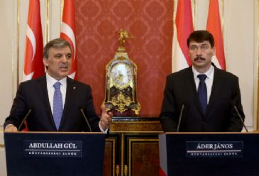 President Gul urges to enhance economic ties with Hungary, saying bilateral trade is only $2 billion.