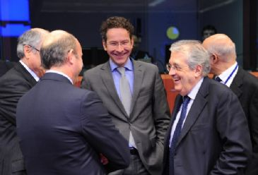 President of the Eurogroup Dijsselbloem noted that the current programme, if fulfilled, can take Greece through to August