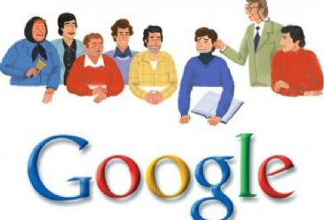 Google's doodle celebrates famous Turkish director Ertem Egilmez's 85th birthday.