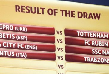 Turkish team Trabzonspor play against Italian giants Juventus in the first leg of Round of 32.