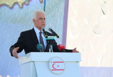 Turkish Cypriot President says Turkish troops' presence on divided island is red line for Turkey