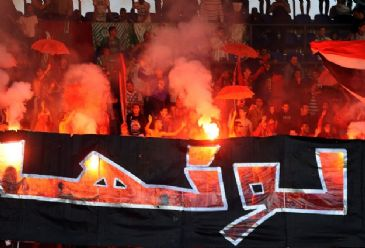 Egyptian authorities had waived a security-linked spectator ban imposed on most football fixtures, allowing a 30,000 crowd to show up.