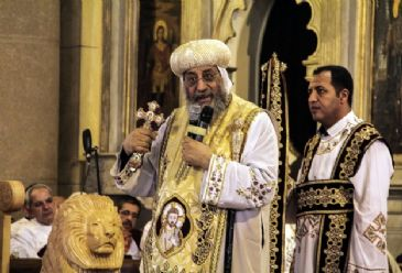 In the past, only 3,000 Copts were allowed to vote to select the new church pope, out of a total population of 10 million, according to church statistics