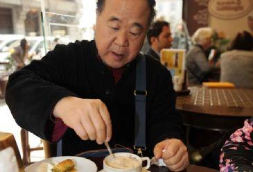 Turkey's Gul receives Mo Yan, who won 2012 Nobel Prize in Literature