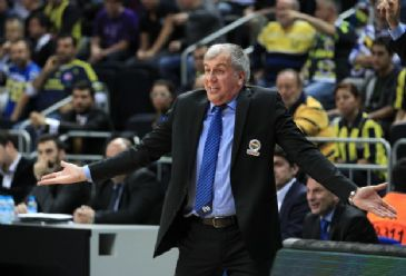 Fenerbahce Ulker's Lithuanian forward Linas Kleiza and Croatian Bojan Bogdanovic each play an important role in offensive and defensive plays towards end of the game