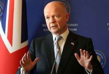 William Hague says financial support is available for new Ukraine government if requested.