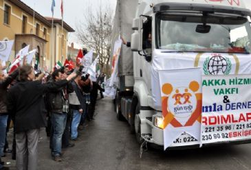 IHH Chairman says over 3,000 trucks of aid have arrived in Syria until now.