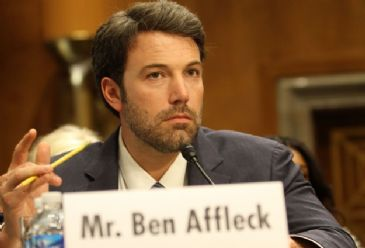 A-list actors Seth Rogen and Ben Affleck testified before separate U.S. Senate committees to draw attention to issues dear to them
