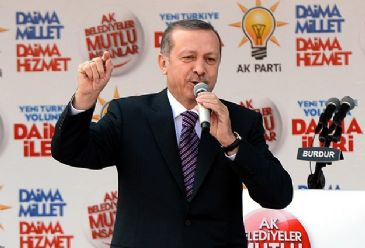 Turkish PM Erdogan says recent turmoil in Turkey targets upcoming local elections on March 30.