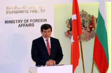 Crimea will contribute into development of Ukraine if it becomes a region of peace, welfare and stability, says Turkey`s Davutoglu.