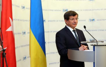 Every development in Ukraine is our concern, says Ahmet Davutoglu