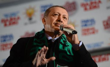 Turkey`s Prime Minister Erdogan spoke during his campaign for the upcoming elections and criticized US-based cleric Fethullah Gulen.