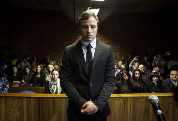 The prosecution accuses the double-amputee sports superstar of knowingly and intentionally killing his 29-year-old girlfriend Reeva Steenkamp, which he denies.