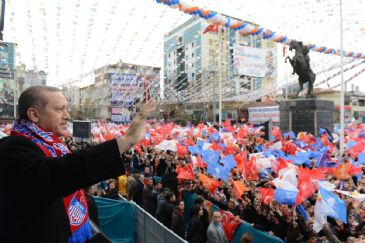 PM Erdogan warned voters ahead of March 30 local elections not to be swayed by an opposition bent on provocation, clashes and intrigue