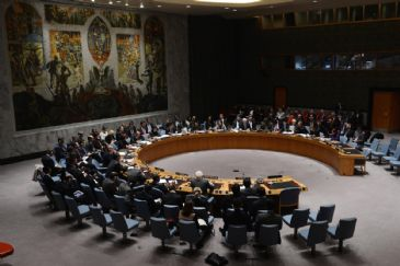 Members of U.N. Security Council are called on to hold a meeting upon the request of Russia.