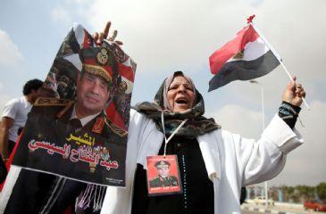Egypt's Defense Minister Abdel-Fattah al-Sisi said Tuesday that he