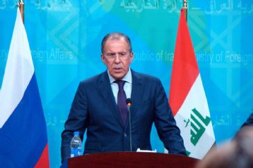 Russian Foreign Minister Sergei Lavrov on Tuesday described the West as a