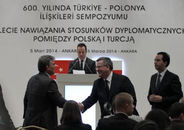 Turkish President Abdullah Gul has expressed hope that the 600th anniversary of Polish and Turkish relations will be a role model.
