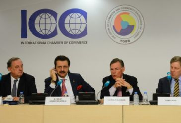 World business leaders were in Turkish capital Ankara on Thursday to discuss recent developments in the global economy