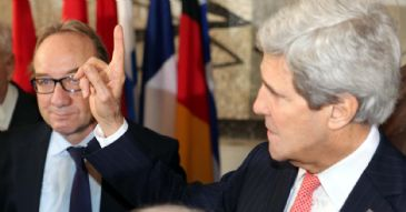 Kerry meets Lavrov in Rome