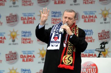 Turkish PM Erdogan says that Turkey will back Crimean Tatars to protect their rights amid the ongoing crisis in Ukraine