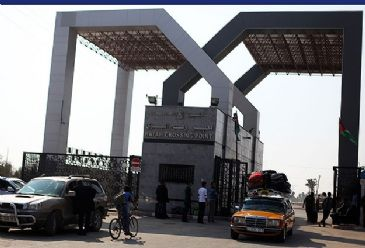 Egyptian authorities will open the Rafah border crossing with the Gaza Strip on Sunday for stranded Palestinians and pilgrims to cross, the Hamas Interior Ministry said.